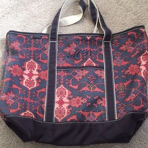 Land's End large canvas tote